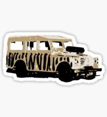 Landrover Jeep Safari Sticker