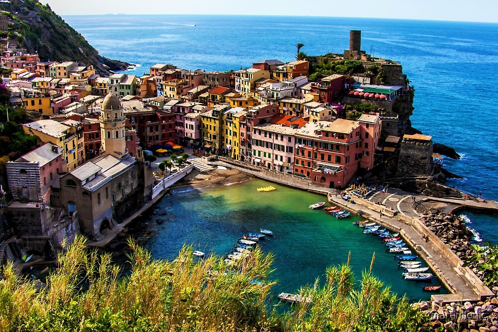 Vernazza by martinilogic