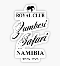 Zambesi Safari Sticker