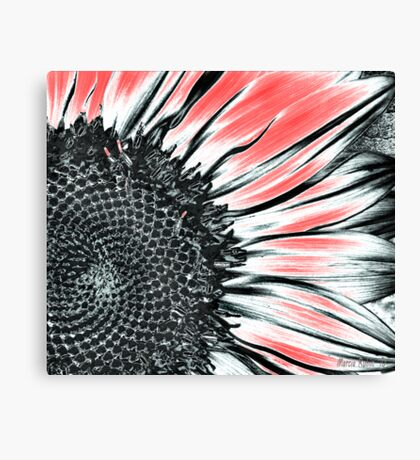 Sunflower Art Canvas Print