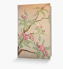 Loveliness Can Be On A Fragile Branch Greeting Card