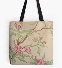 Loveliness Can Be On A Fragile Branch Tote Bag