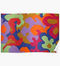 Bright Colors ~ Abstract Art Poster