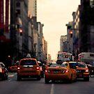 NYC Taxi von thomasrichter