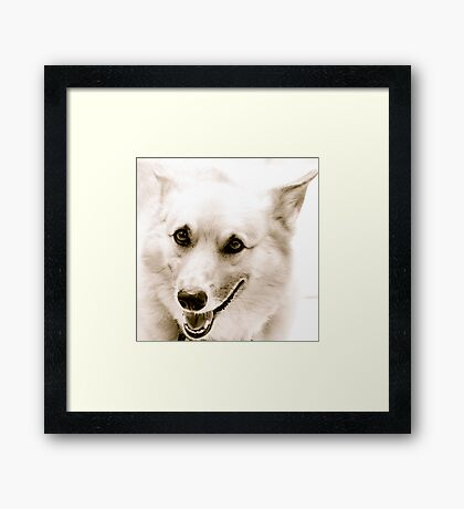 Smile Framed Print