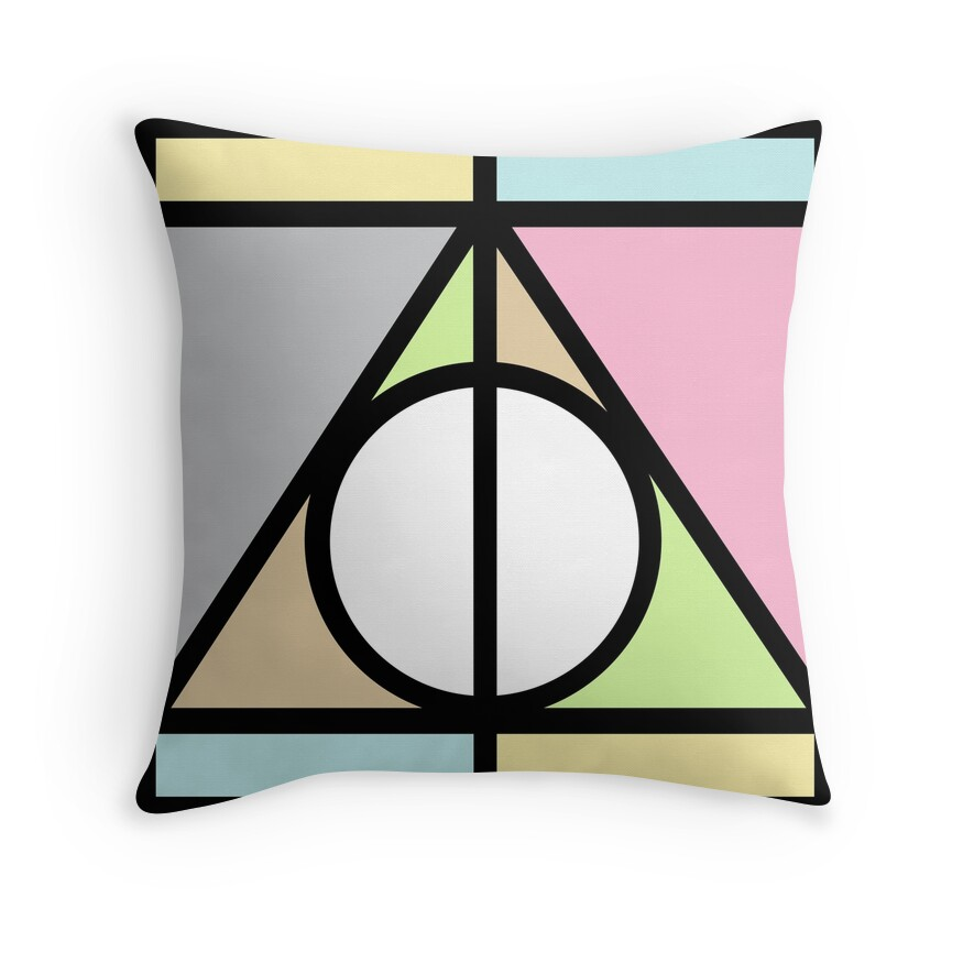 Deathly Hallows | Throw Pillow