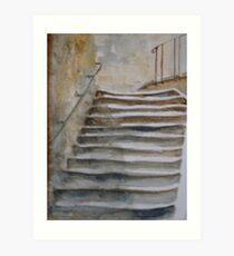 Rue du Porche Art Print