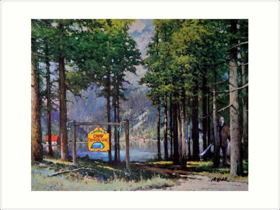 Crystal Lake by David Irvine