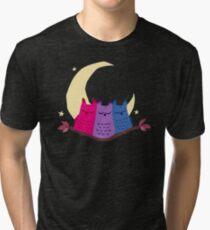 Bisexuowls Tri-blend T-Shirt