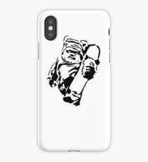 Jawa Skateboarder Stencil iPhone Case/Skin