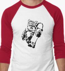 Jawa Skateboarder Stencil Men's Baseball ¾ T-Shirt