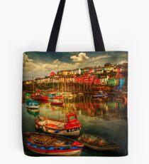 Brixham Boats Tote Bag