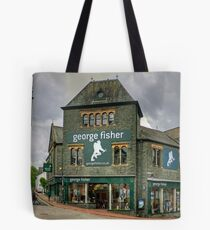 George Fisher Tote Bag