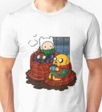 Finn and Jake Really Big Sweaters  T-Shirt