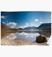 Crummock Water, Lake District Poster