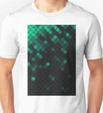 Pattern1 - black&green T-Shirt