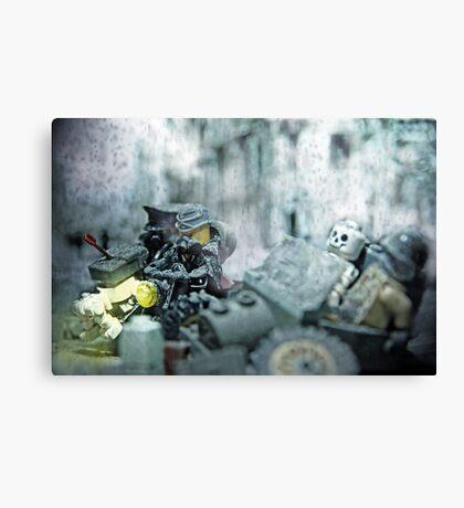 Lego Weird War side car Canvas Print