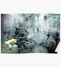 Lego Weird War side car Poster