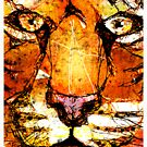 Scribble Tiger Tee by Patricia Anne McCarty-Tamayo