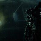 Aliens spaceship by Shobrick