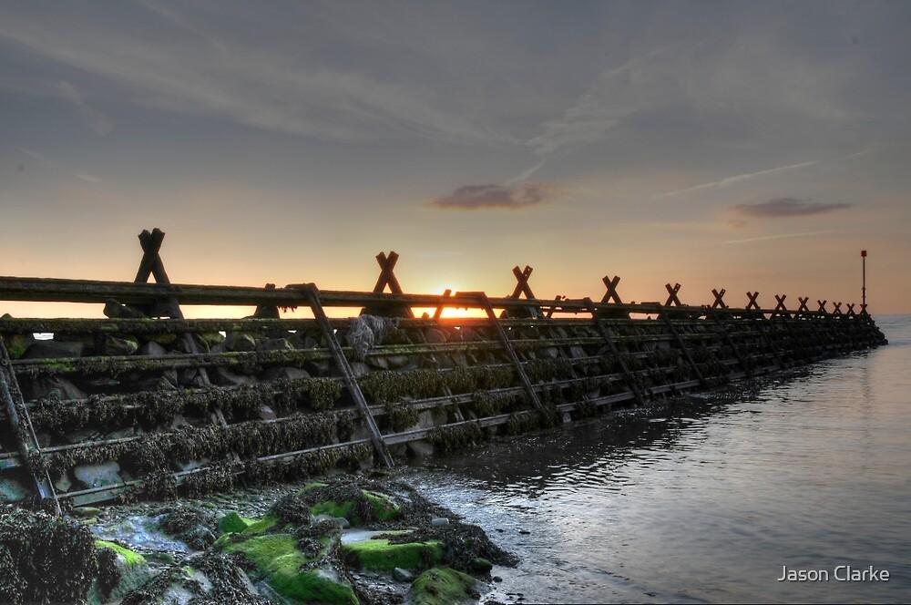 Sea defence by Jason Clarke