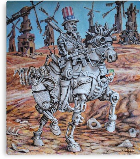 Quixote Sam by HDPotwin