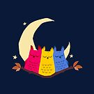 Pansexuowls by Kirstendraws