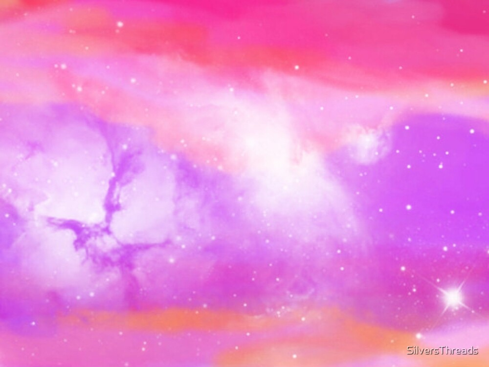 Pink space by SilversThreads