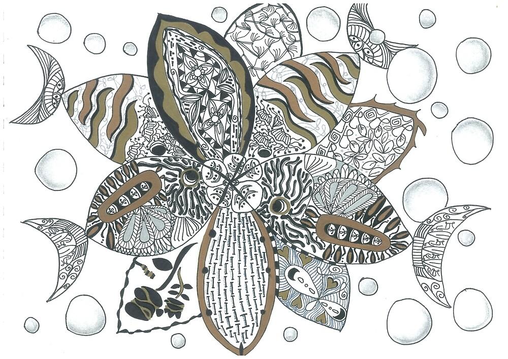 Aqua doodling  by mindove