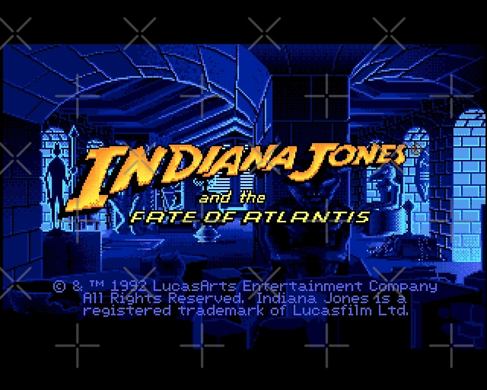 Indiana Jones and The Fate of Atlantis #02 by themasrix