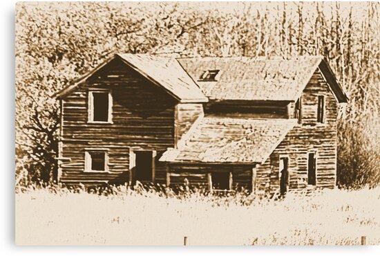 Memories Of The Old Homestead by Leslie van de Ligt