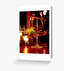 mise en place Greeting Card