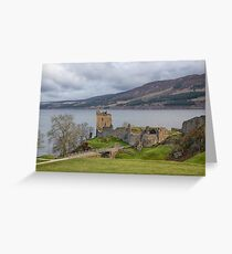 Urquhart Castle Greeting Card