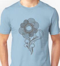 Flower Sketching T-Shirt