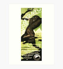 Nosferatu A Symphony Of Horrors Restored Film poster Art Print