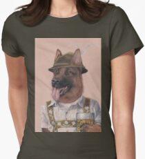 German Shepherd Women's Fitted T-Shirt