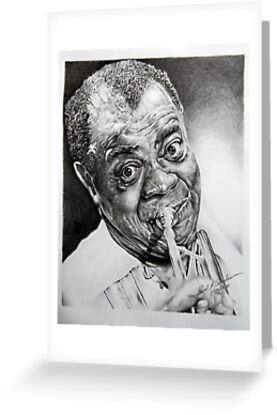 Louis Armstrong by paulcardenas