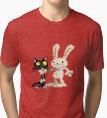Sam & Max #03 Tri-blend T-Shirt