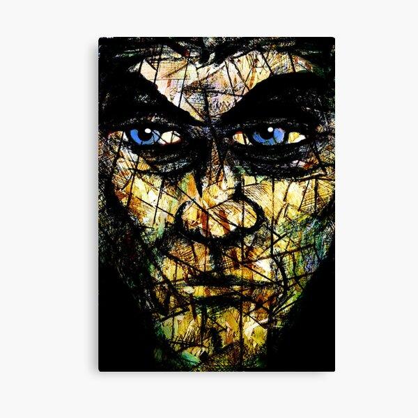 Long Face Wide Canvas Print