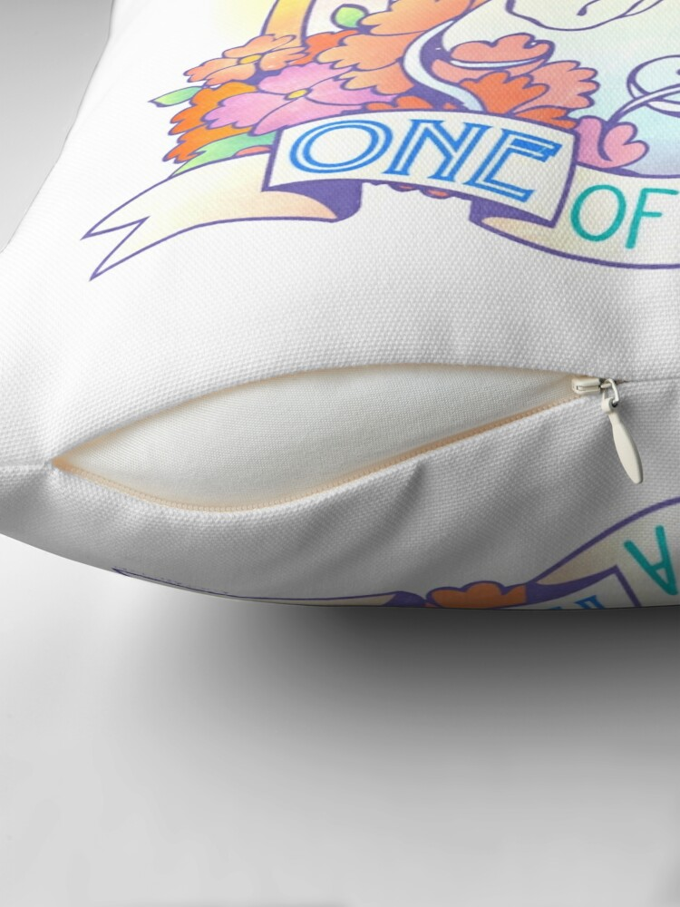 Alternate view of One of a Kind Creature Throw Pillow