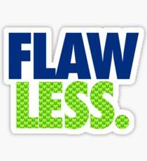 FLAW - LESS Sticker