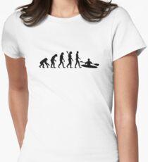 Evolution Kayak Women's Fitted T-Shirt