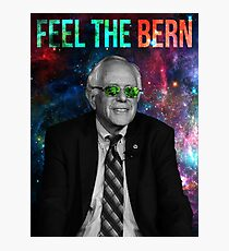Bernie Sanders - Feel the Bern Photographic Print