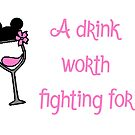A drink worth fighting for by disneyinyourday