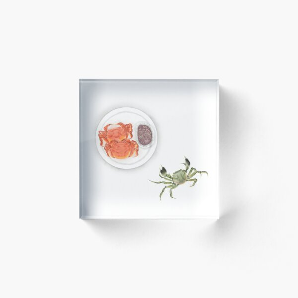Hairy Crab | 大闸蟹 Acrylic Block