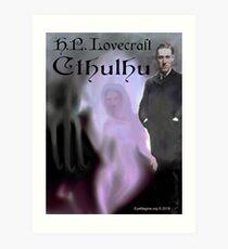 H.P. Lovecraft Cthulhu Art Print