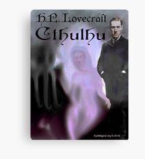 H.P. Lovecraft Cthulhu Canvas Print