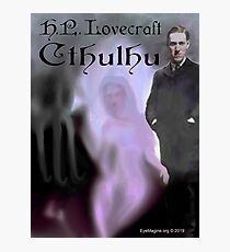 H.P. Lovecraft Cthulhu Photographic Print