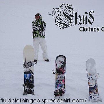Snow Ad - Fluid Clothing by Timdim