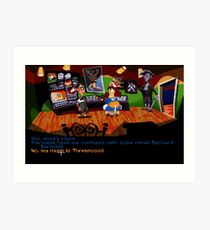 Maniac Mansion - Day of the Tentacle #01 Art Print